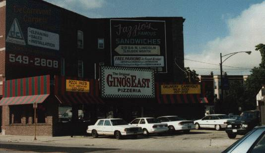 Gino's East , Chicago