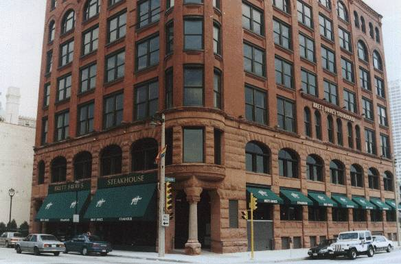 Brett Favre's Steakhouse  , Milwaukee