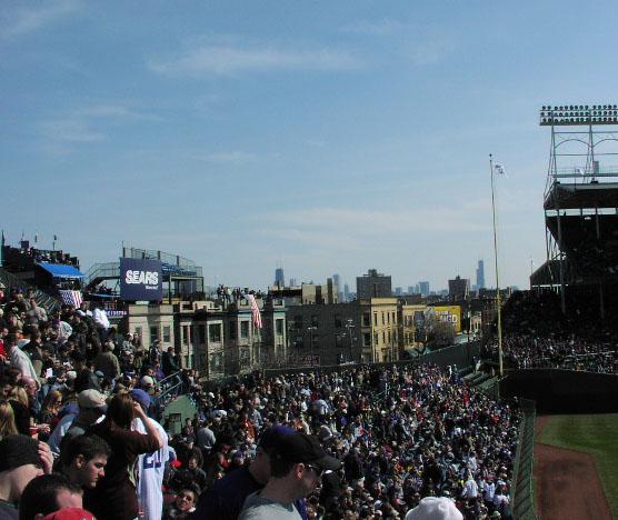 Wrigley Field , Chicago