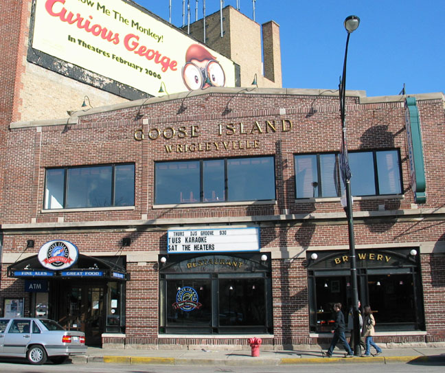 Goose Island Brewery  , Chicago