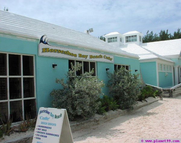 Horseshoe Bay Beach Cafe , South Shore, Bermuda