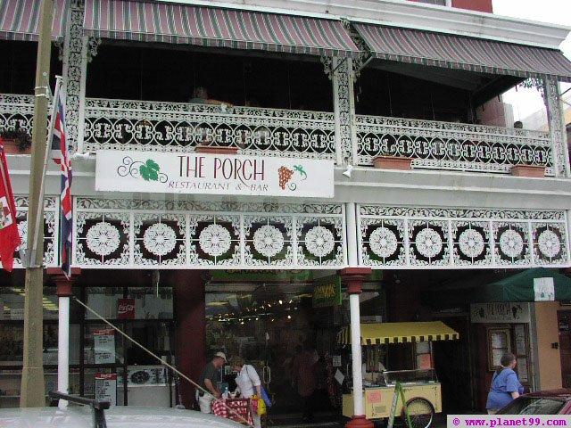 Porch , Hamilton, Bermuda