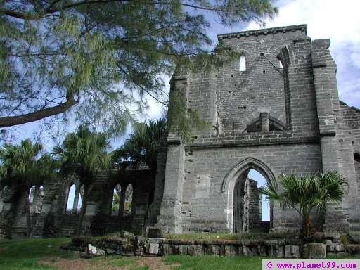 Unfinished Church , St George's, Bermuda