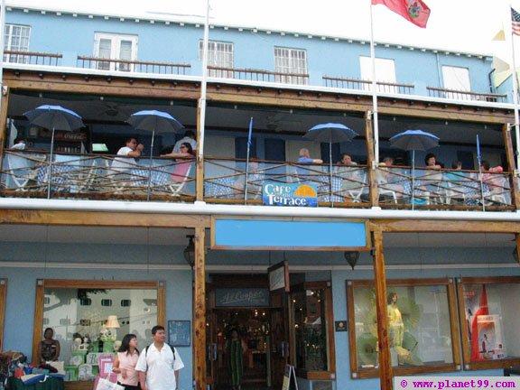 Cafe on the Terrace , Hamilton, Bermuda
