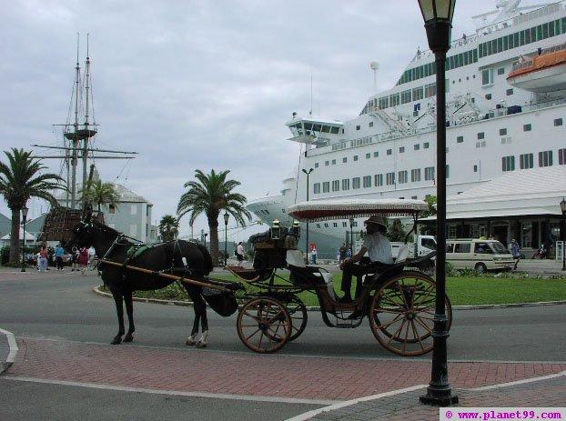 Port of St George's , St George's, Bermuda