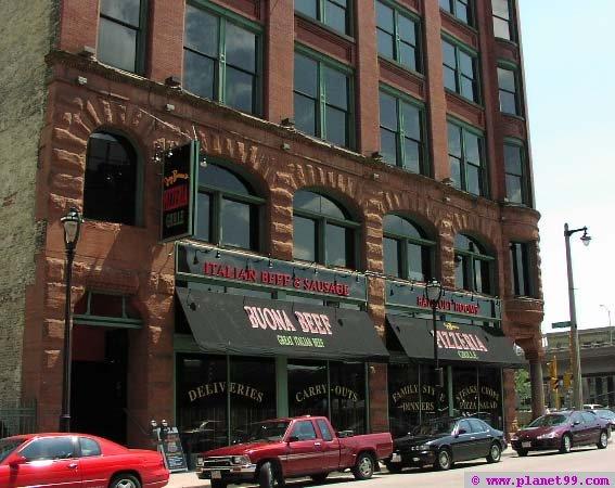 Milwaukee , Joey Buona's Italian Grille