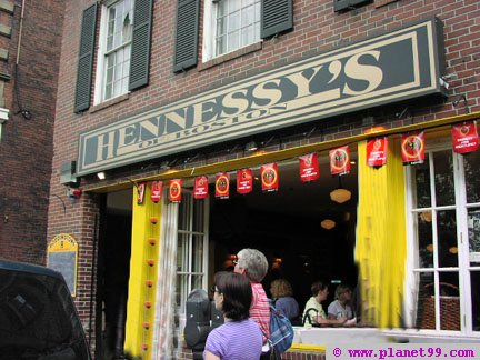 Hennessy's of Boston , Boston