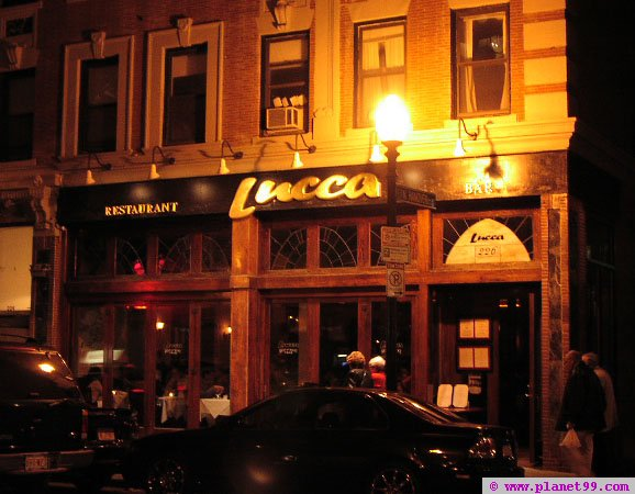 Boston , Lucca Restaurant and Bar