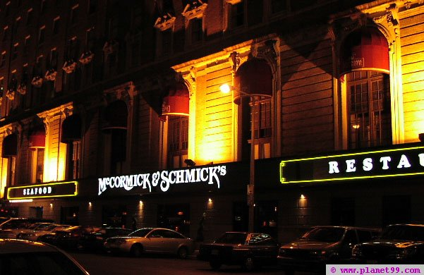 Boston , McCormick and Schmick's Seafood Restaurant