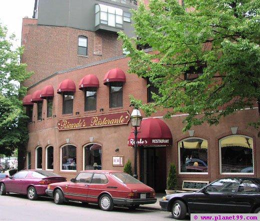 Boston , Ricardo's Ristorante