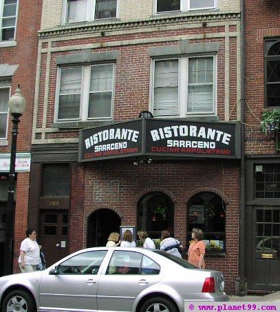 Boston , Ristorante Saraceno