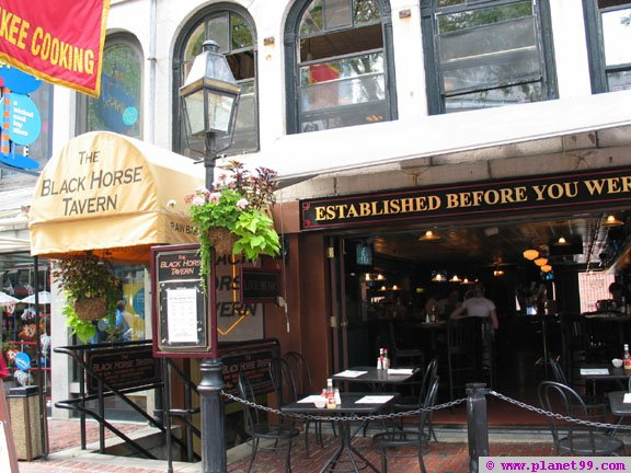 Black Horse Tavern , Boston