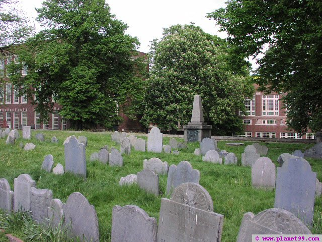 Copp's Hill Burial Ground , Boston