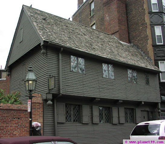 Paul Revere House , Boston