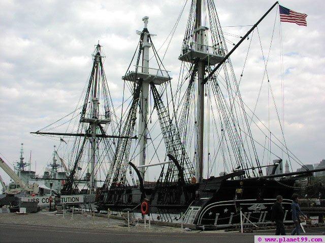 USS Constitution , Charlestown