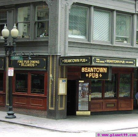 Beantown Pub , Boston