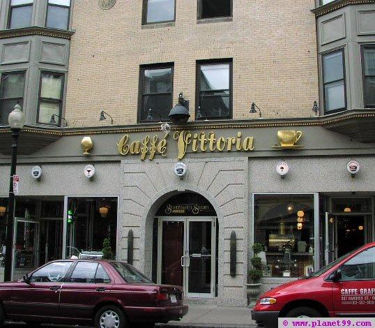 Caffe Vittoria , Boston