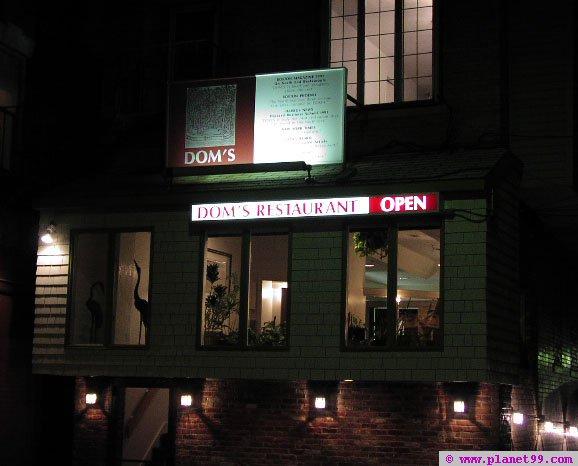 Dom's , Boston