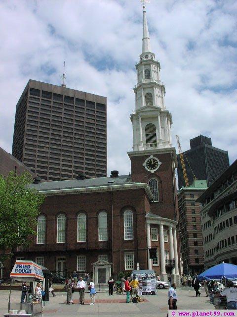 King's Chapel , Boston