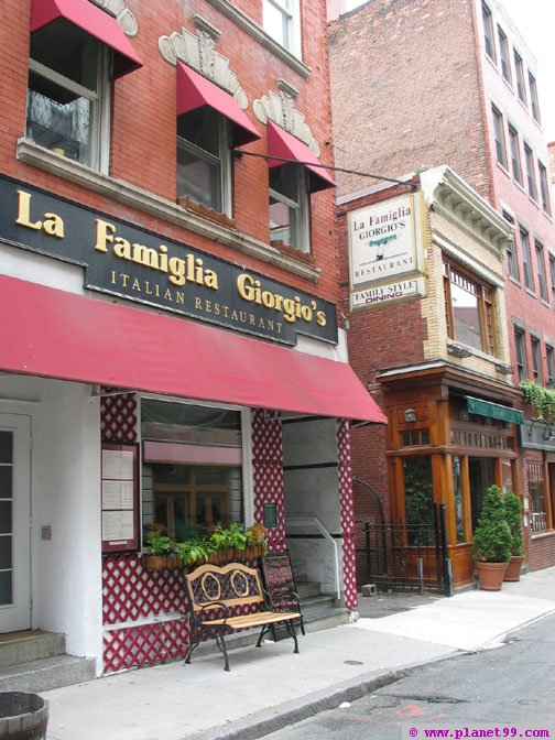 La Famiglia Giorgio , Boston