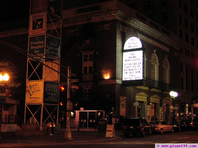 Wilbur Theater , Boston