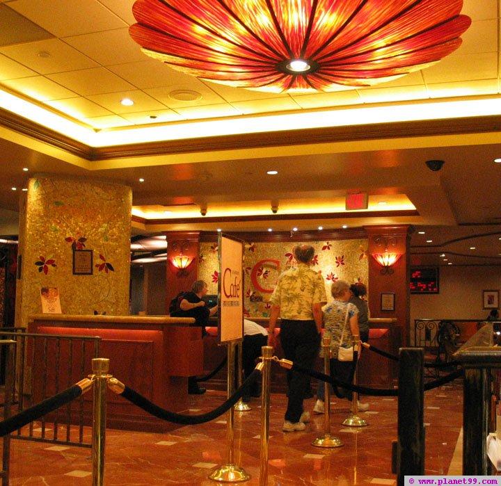 Cafe at Harrah's , Las Vegas