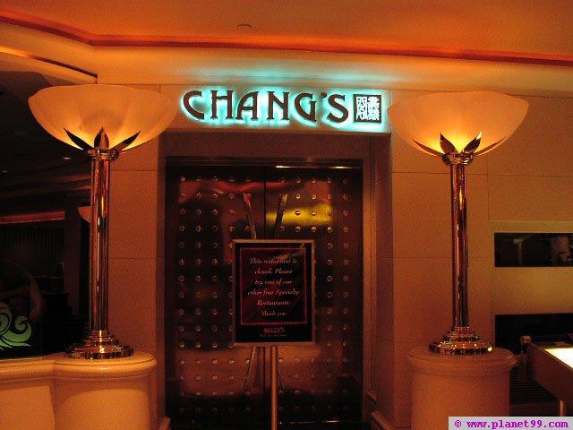 Chang's , Las Vegas