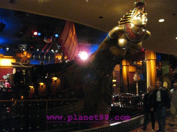 Cleopatra's Barge , Las Vegas