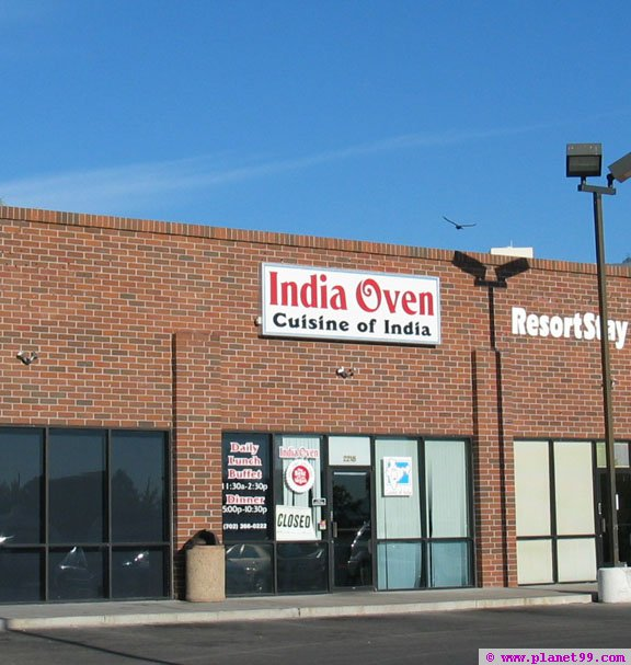 India Oven , Las Vegas