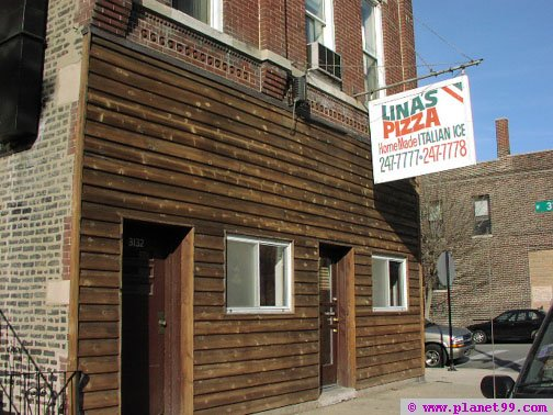Lina's Pizza , Chicago