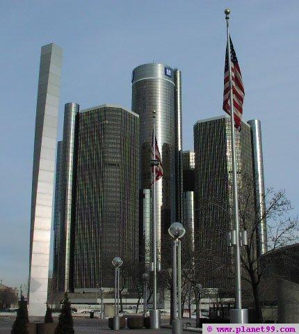 Renaissance Center , Detroit