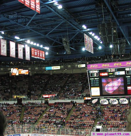Joe Louis Arena , Detroit