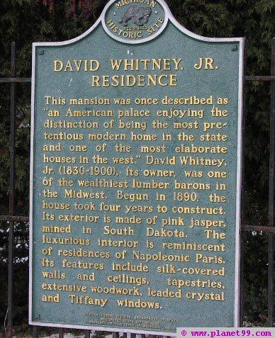 Whitney Mansion , Detroit