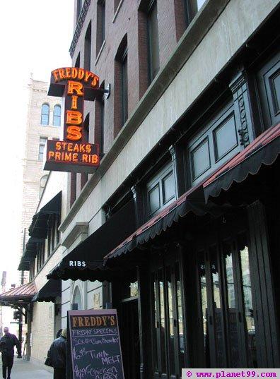 Freddy's BBQ  , Chicago