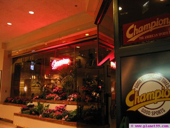 Champions Sports Bar and Restaurant , Boston