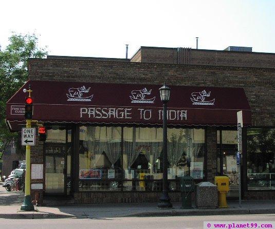 Passage to India , Minneapolis
