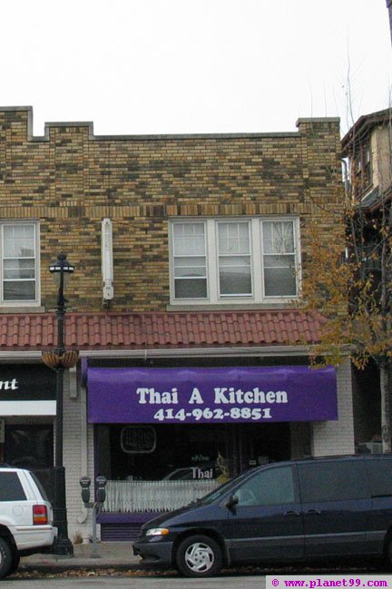 Thai A Kitchen , Milwaukee