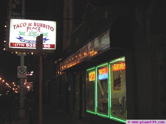 Taco Burrito Place , Chicago