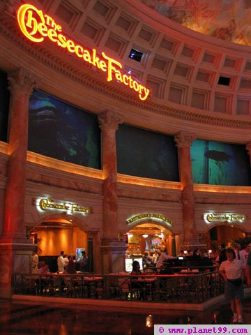 Cheesecake Factory , Las Vegas