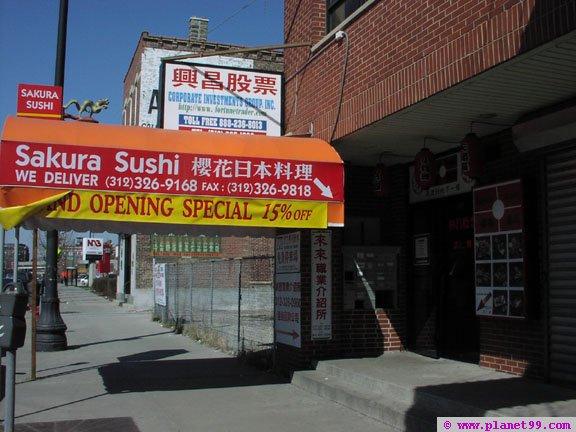 Chicago , Sushi Lounge