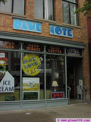 Blue Note Cafe , Pontiac