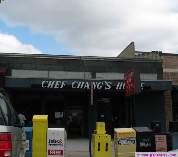 Brookline , Chef Chang's House