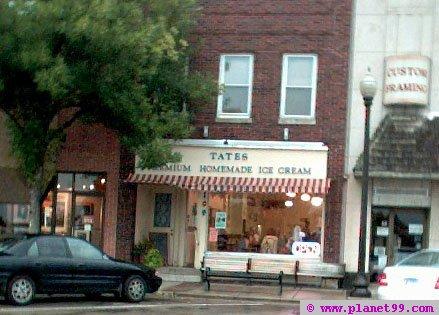 Wheaton , Tates Old Fashioned Ice Cream Shop