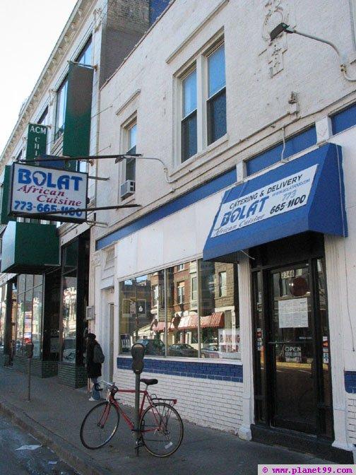 Chicago , Bolat African Cuisine