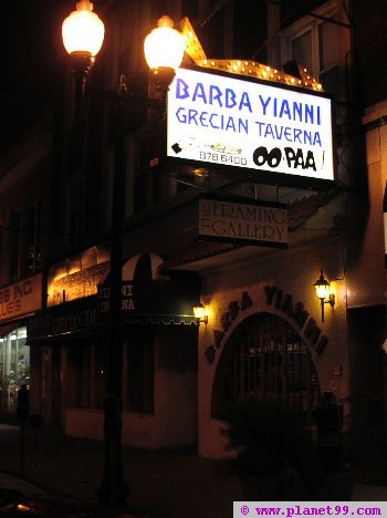 Barba Yiani Grecian Taverna , Chicago