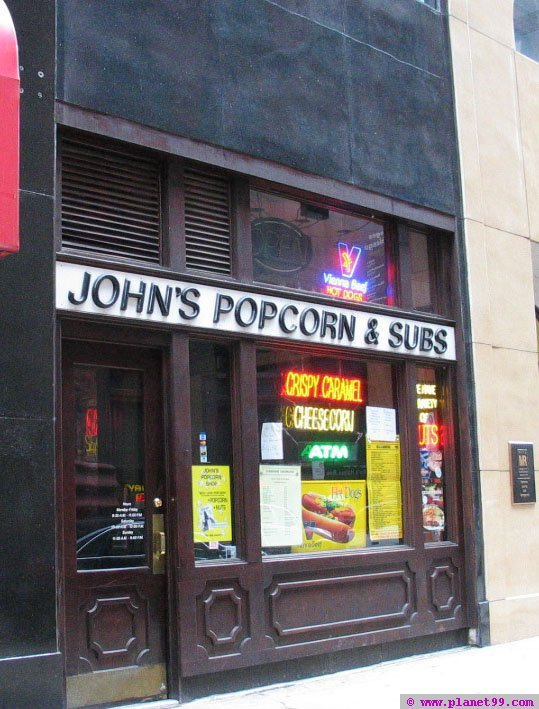 John's Popcorn and Subs , Chicago