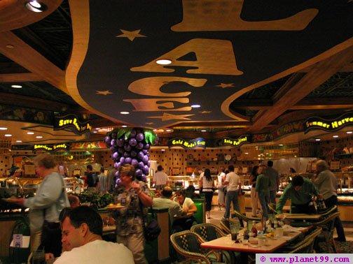 Buffet at Harrah's , Las Vegas