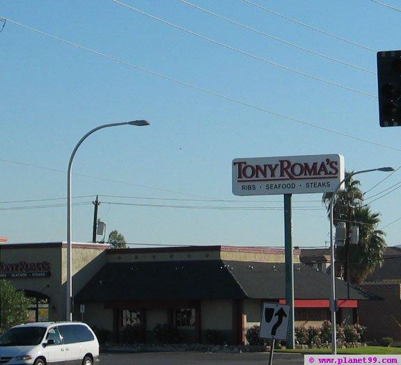 Tony Roma's , Las Vegas