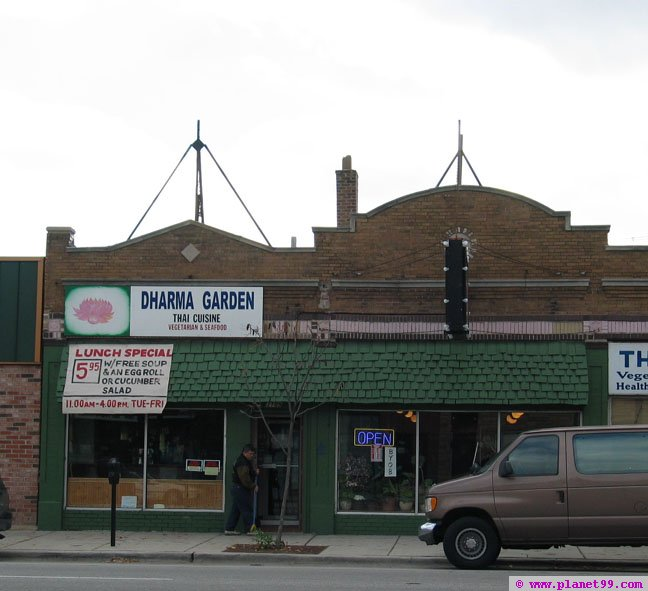 Dharma Garden Restaurant , Chicago