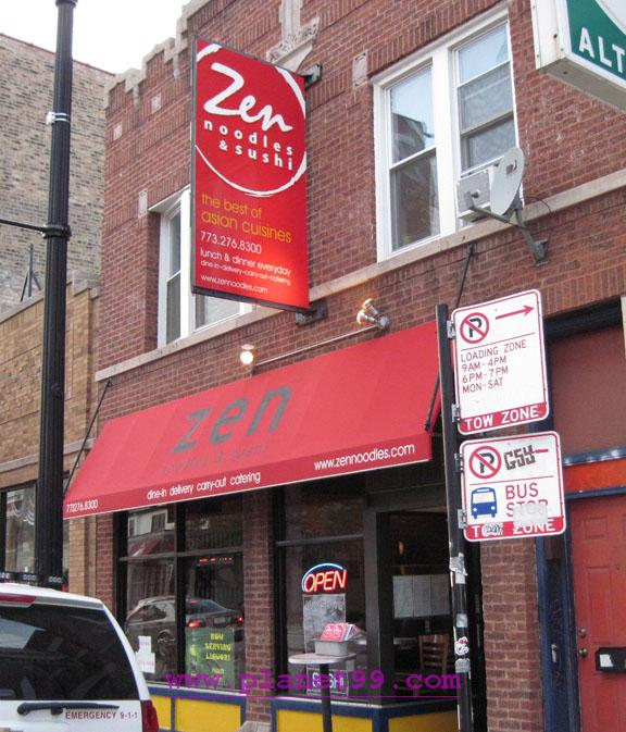 Zen Noodles , Chicago